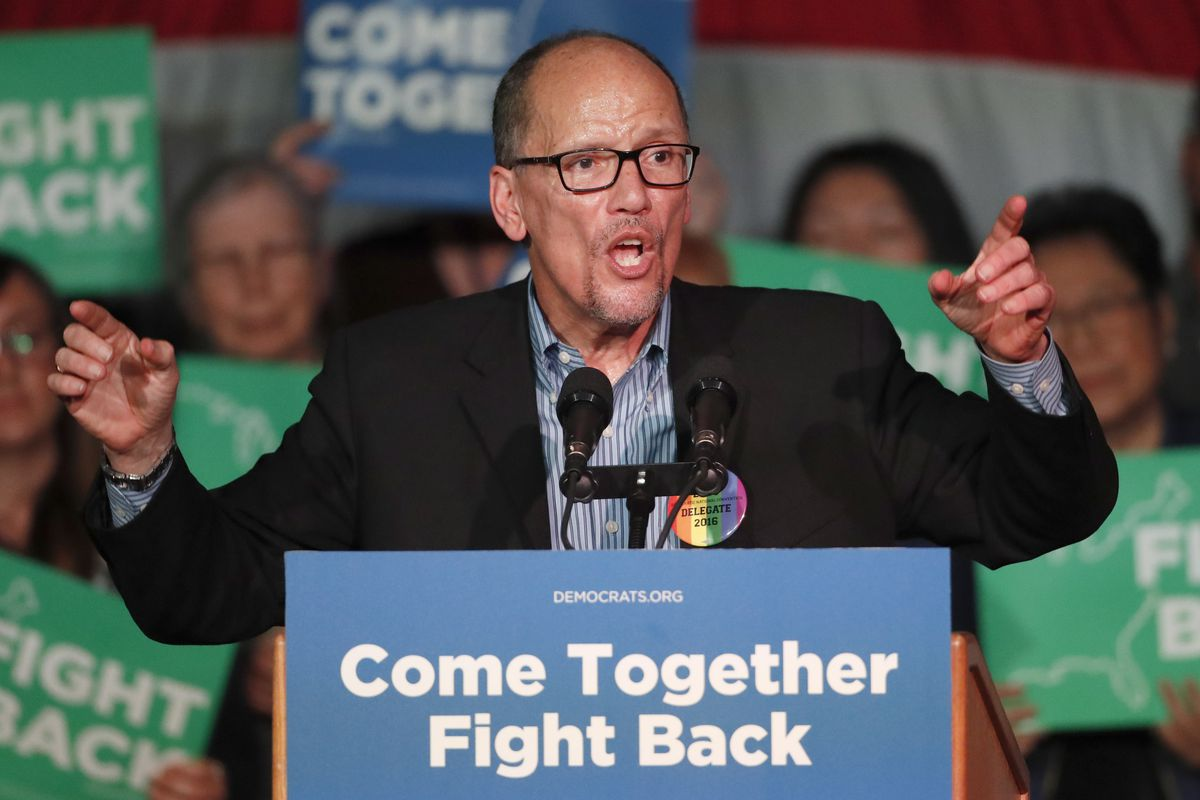 DNC Chairman Tom Perez must be happy the latest cyberattack didn't pan out.