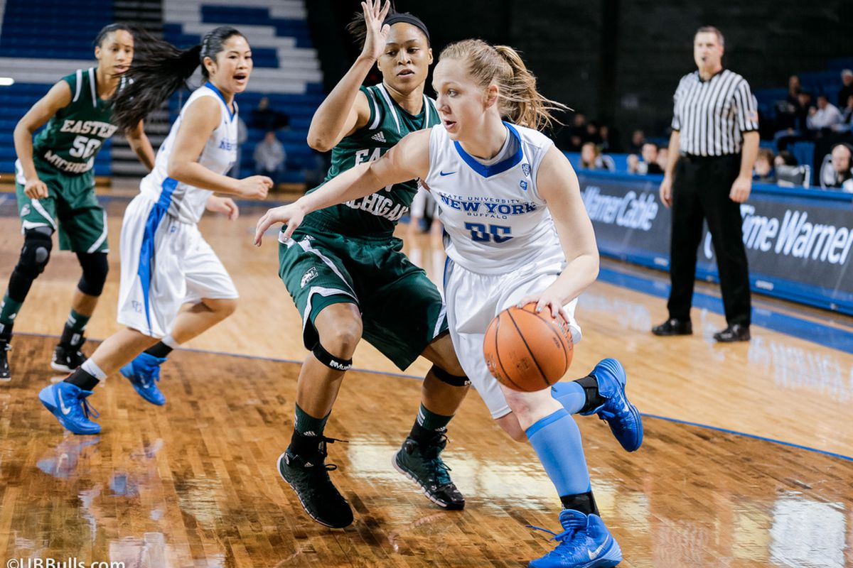 Mackenzie Loesing got a shot at MAC-leading CMU today after missing the first matchup due to injury.