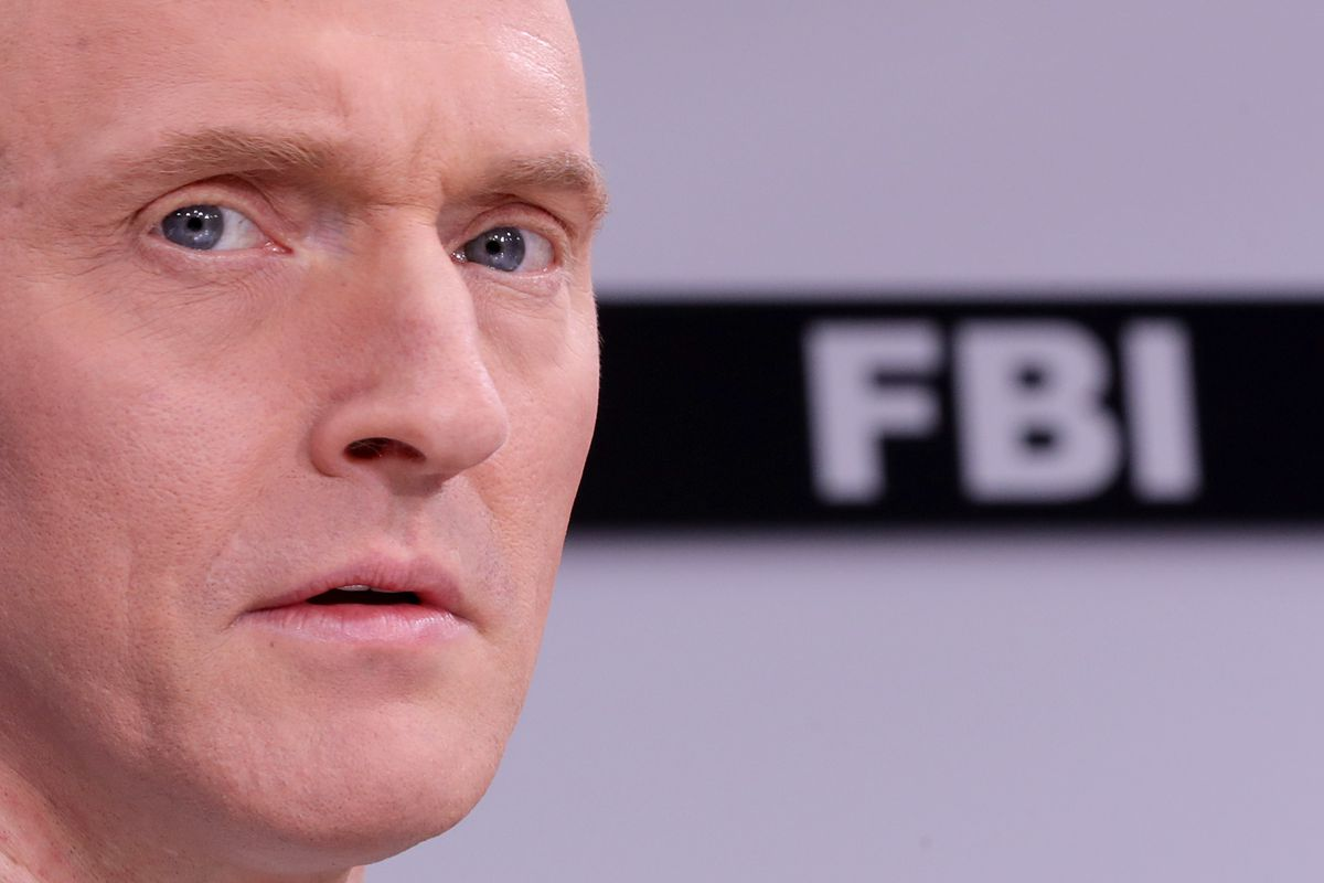 Carter Page Participates In Judicial Watch Discussion