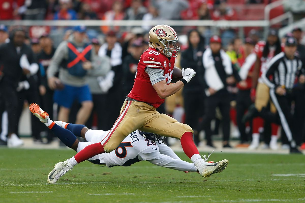 fe8dd153823 George Kittle s record-setting day  49ers