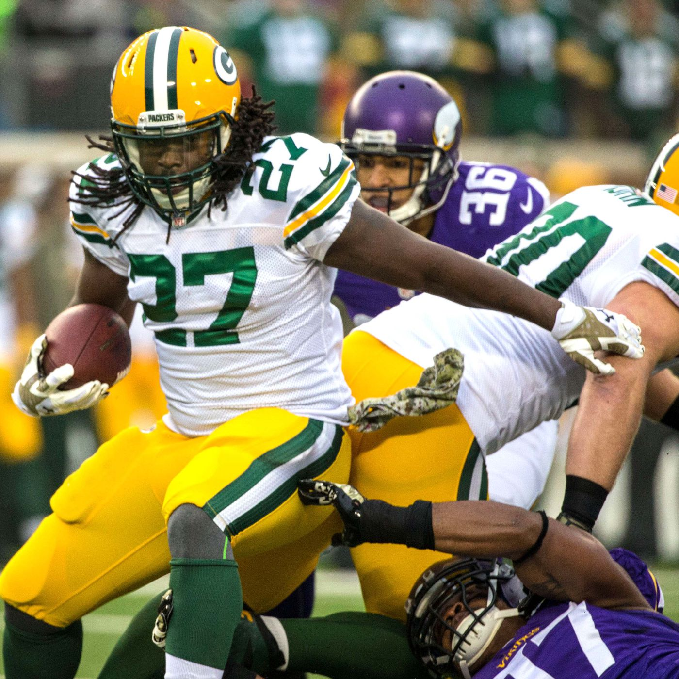 Packers Vs Vikings Final Score Lacy Runs For 125 Scores Twice In 24 21 Win Acme Packing Company