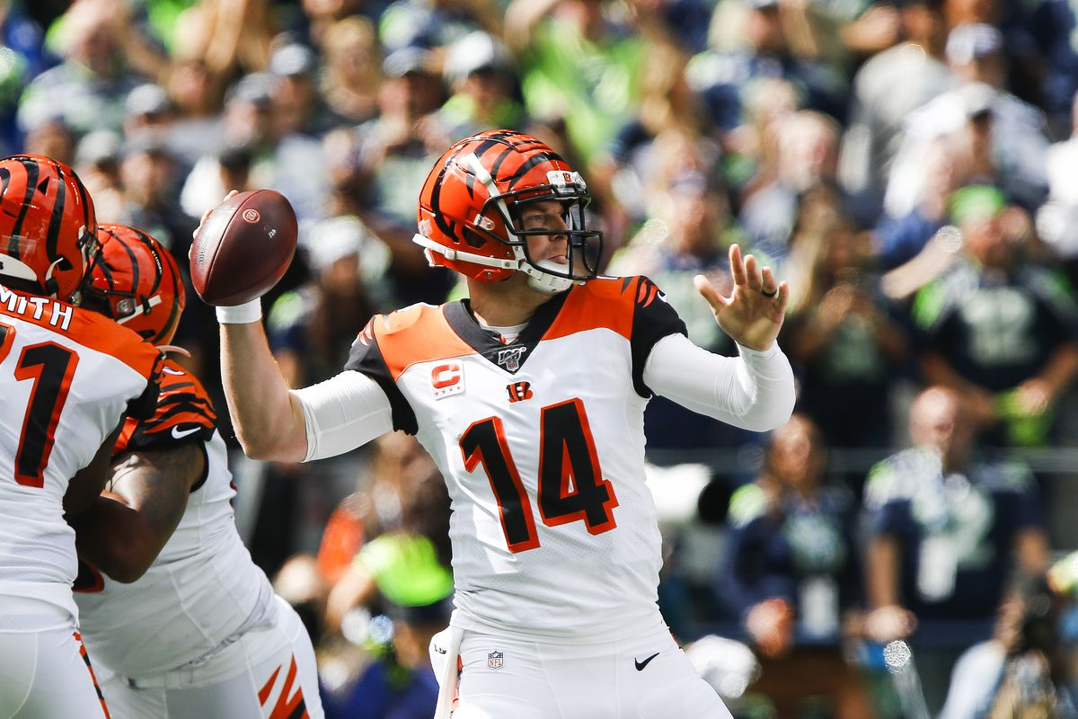 Image result for andy dalton vs seahawks