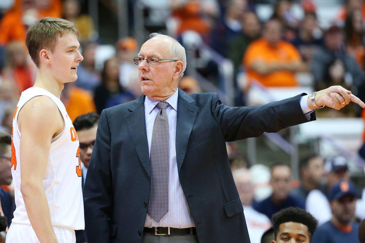 Heim Time Syracuse Basketball Head Coach Jim Boeheim Only