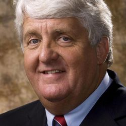 Rep. Rob Bishop, the Republican incumbent for Utah's 1st District, poses for his October 2008 portrait in Salt Lake City.