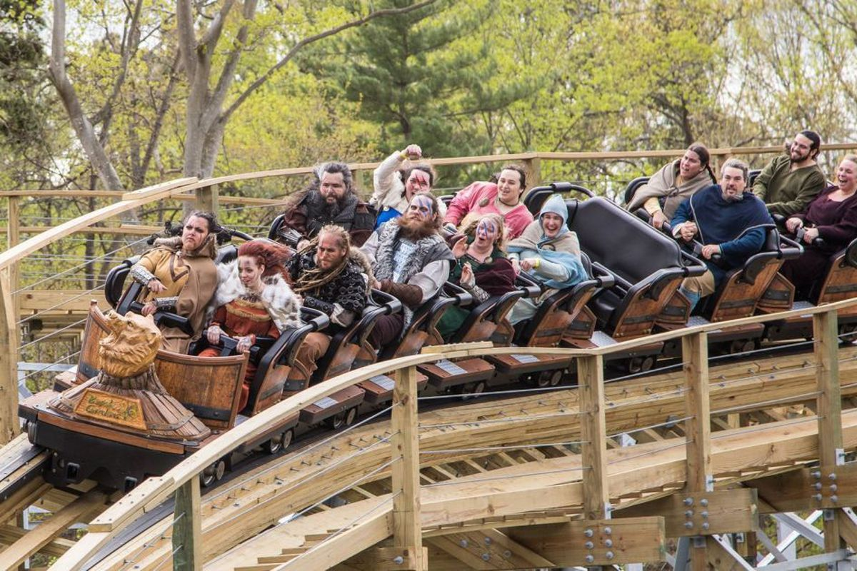 Wooden Coaster Thrills Invade Busch Gardens Williamsburg Chicago