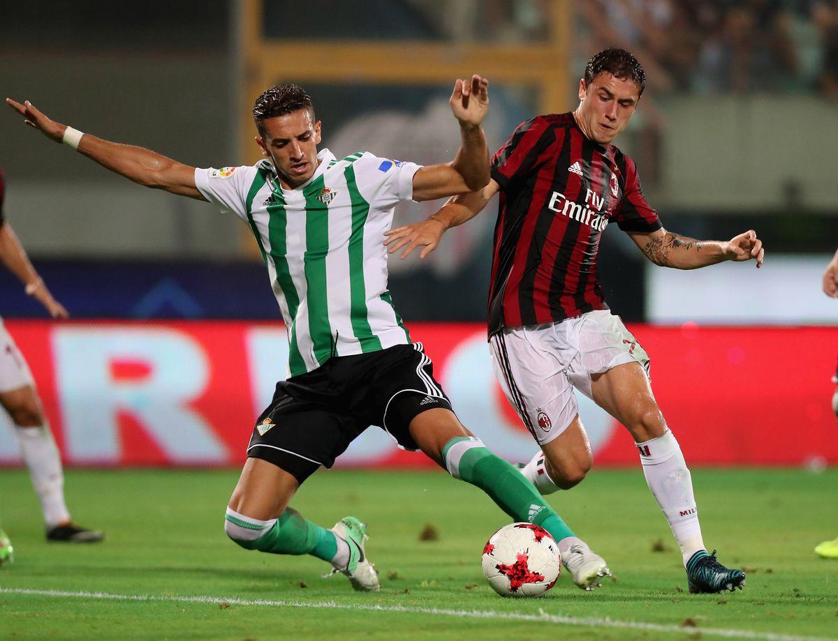 AC Milan v Real Betis Balompè - Pre-Season Friendly