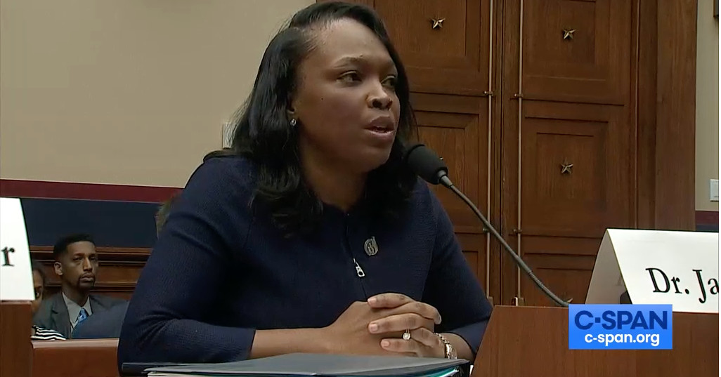 Chicago schools CEO Janice Jackson keeps cool at House hearing after GOP lawmaker raises questions about immi