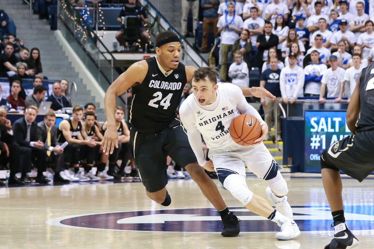 NCAA Basketball: Colorado at Brigham Young