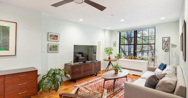 how much for a spacious east village condo with a balcony curbed ny. Black Bedroom Furniture Sets. Home Design Ideas