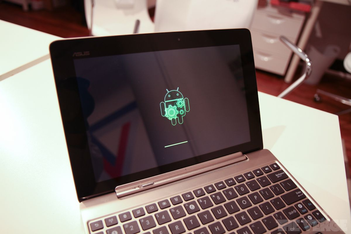 Asus Transformer Prime Android Honeycomb Update Logo