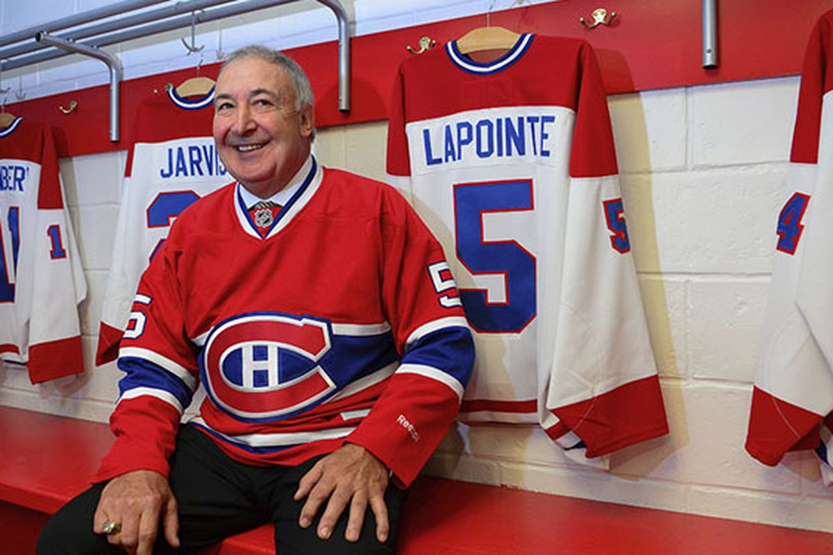 Montreal will retire LaPointe's number 5 jersey tonight