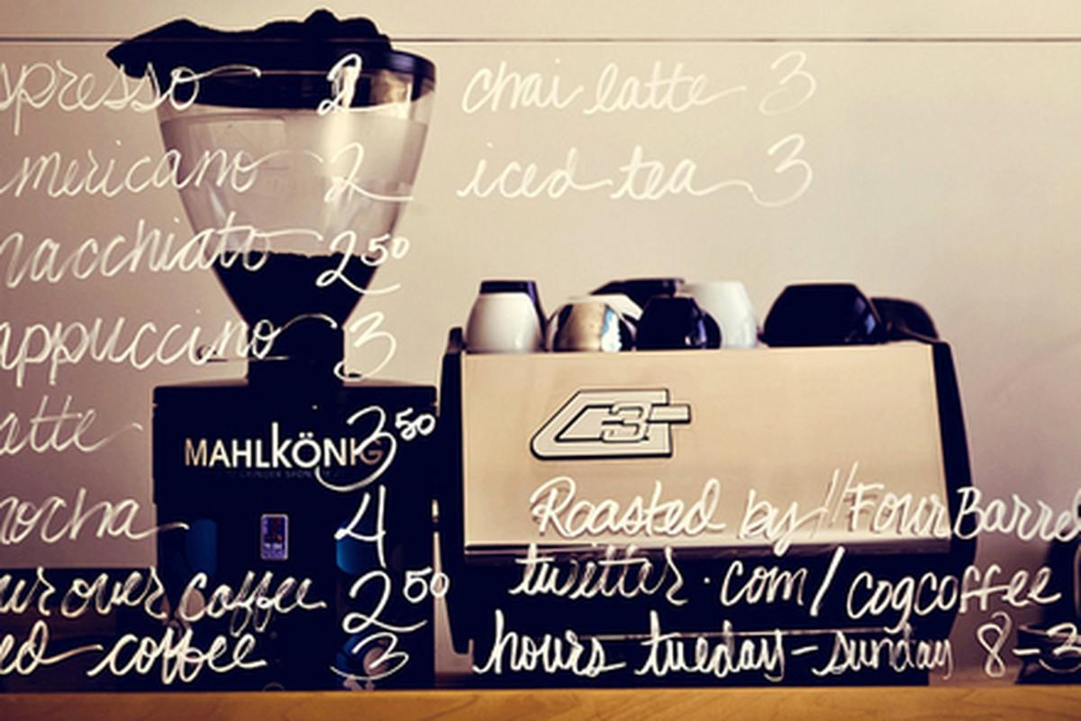 Cognoscenti Coffee at Blue Dot, Eagle Rock.