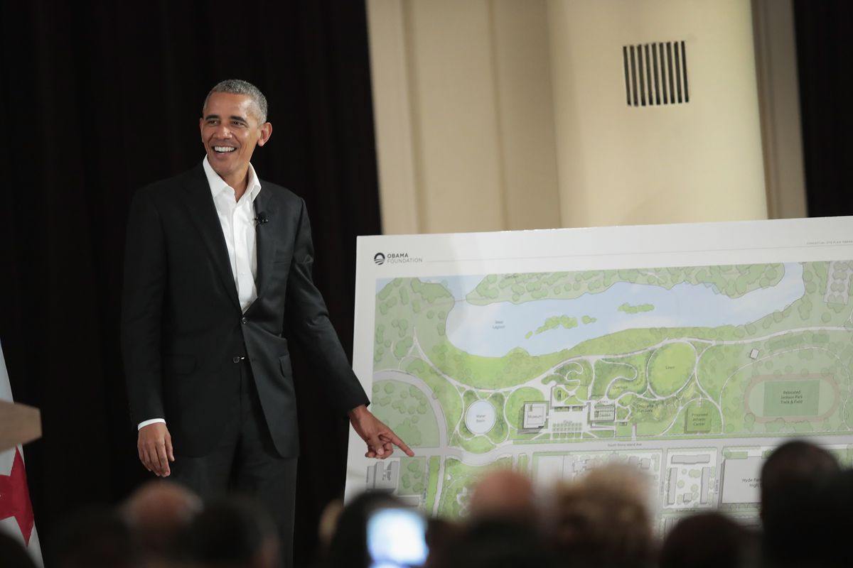 The Obama Foundation has enlisted the Chicago Botanic Gardens to help design gardens and landscape features at the presidential center.