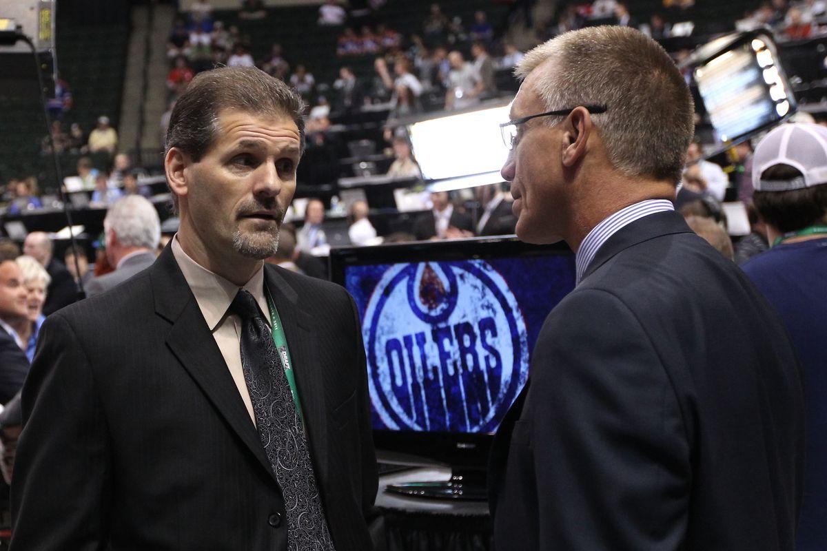 Ron Hextall, Philadelphia Flyers GM, Watches The Ripples