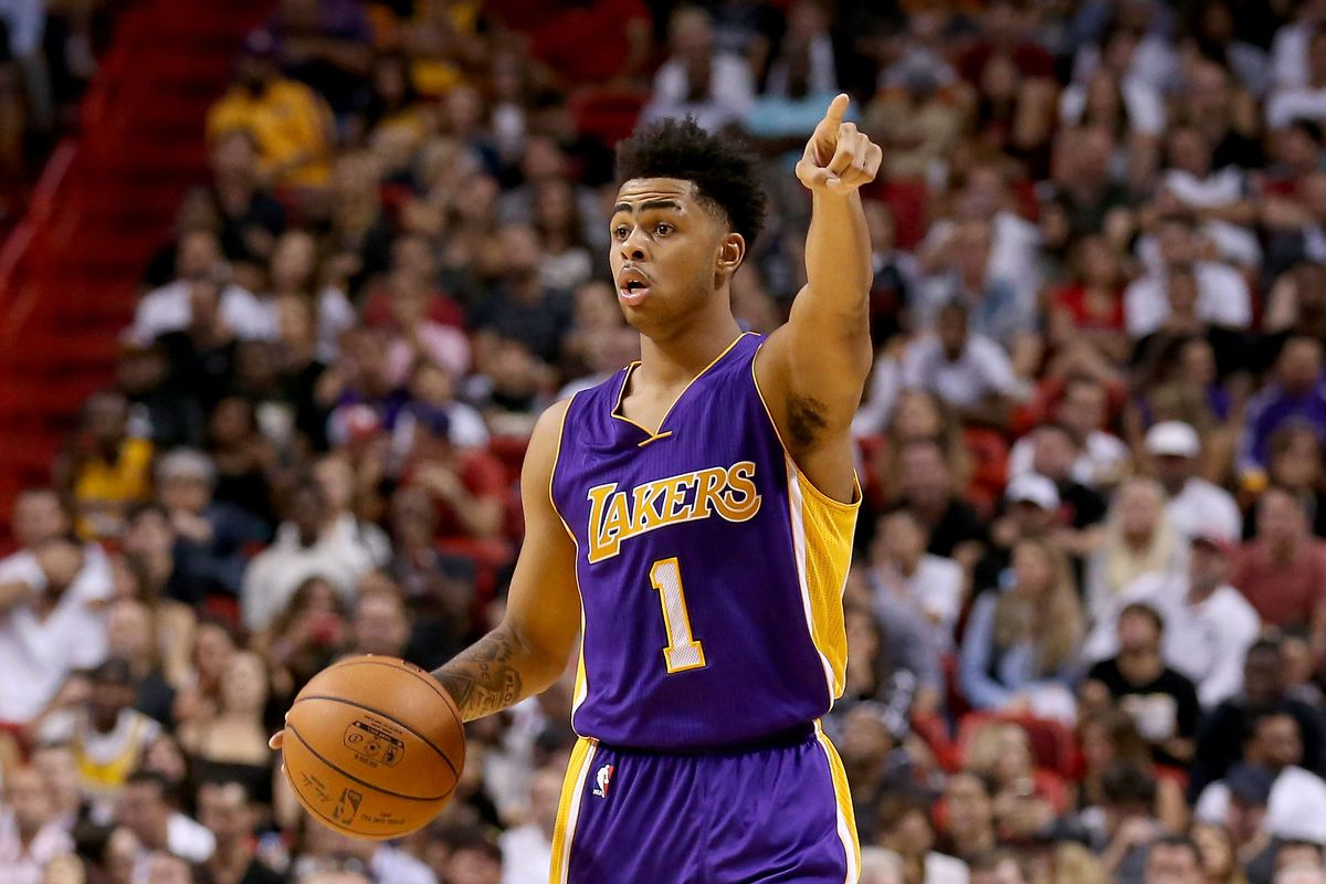 Don't let his early seaosn struggles fool you, D'Angelo Russell is improving...