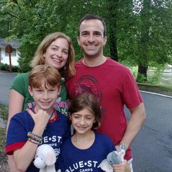 Jessica and Matthew Daitch of Charlotte, N.C., have tried hard not to overparent Logan, 11, and Ivy, 9.