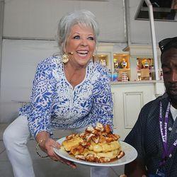 Paula Deen at Grand Tasting demo