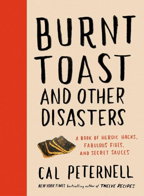 The cookbook cover for Burnt Toast and Other Disasters