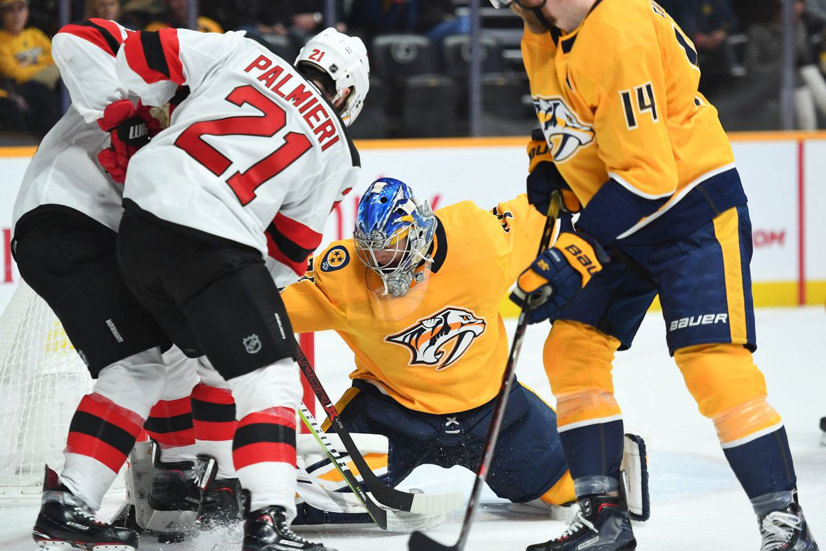 14f5da47c 3 Outta 4 Ain t Bad  New Jersey Devils Comeback Pt. 2 Falls Short Against  Nashville Predators 1-2 in SO