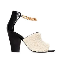 "Chain ankle strap high heel, $100 (was $525) via <a href=""https://www.modaoperandi.com/31-phillip-lim-pf14/berlin-chain-ankle-strap-high-heel""> Moda Operandi</a>"