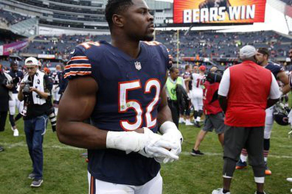 save off 7f37d e1063 Before he was a Bear, Khalil Mack transformed Buffalo ...