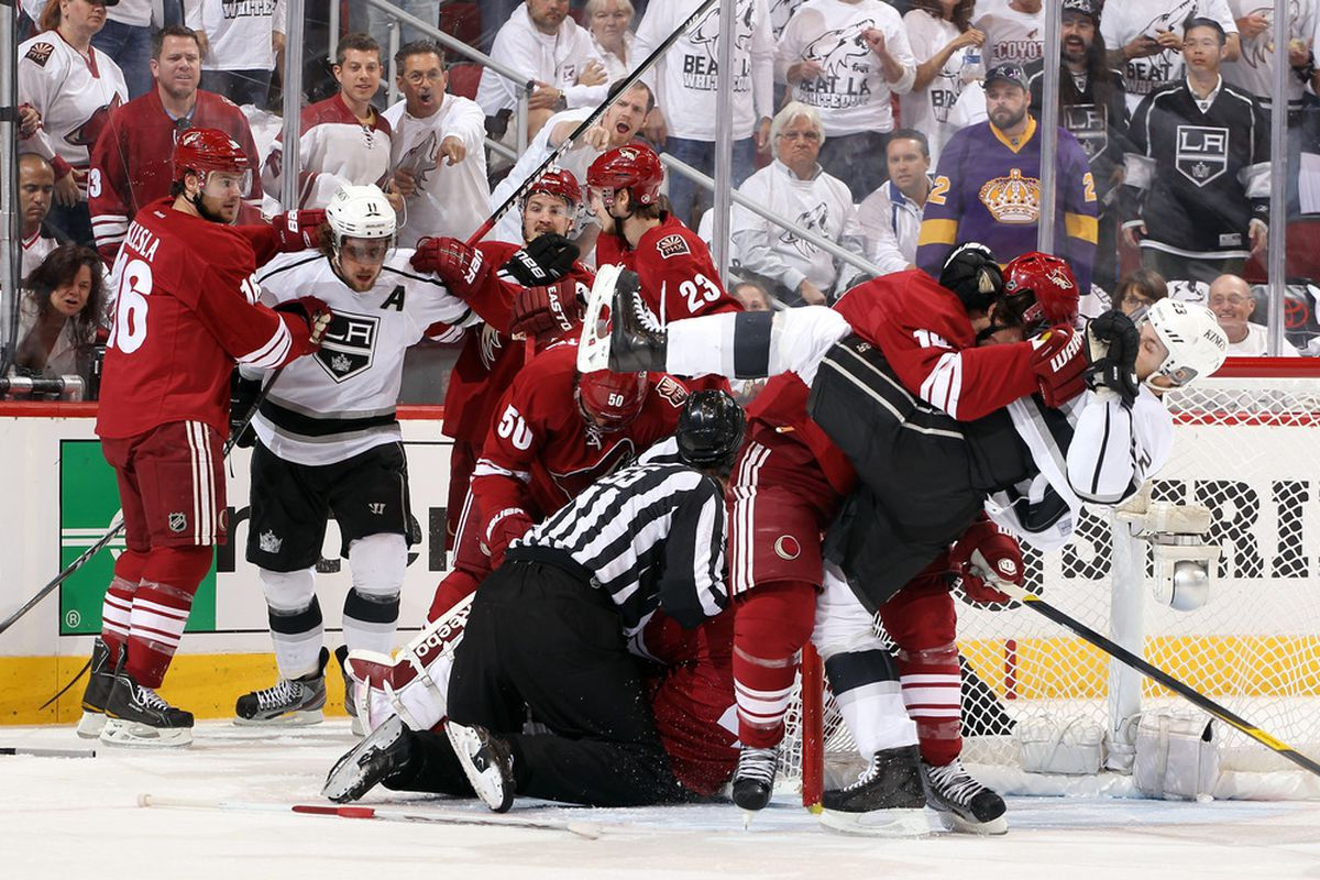 Doan taking down Brown may be worth $7.5 million per year. (Photo by Christian Petersen/Getty Images)
