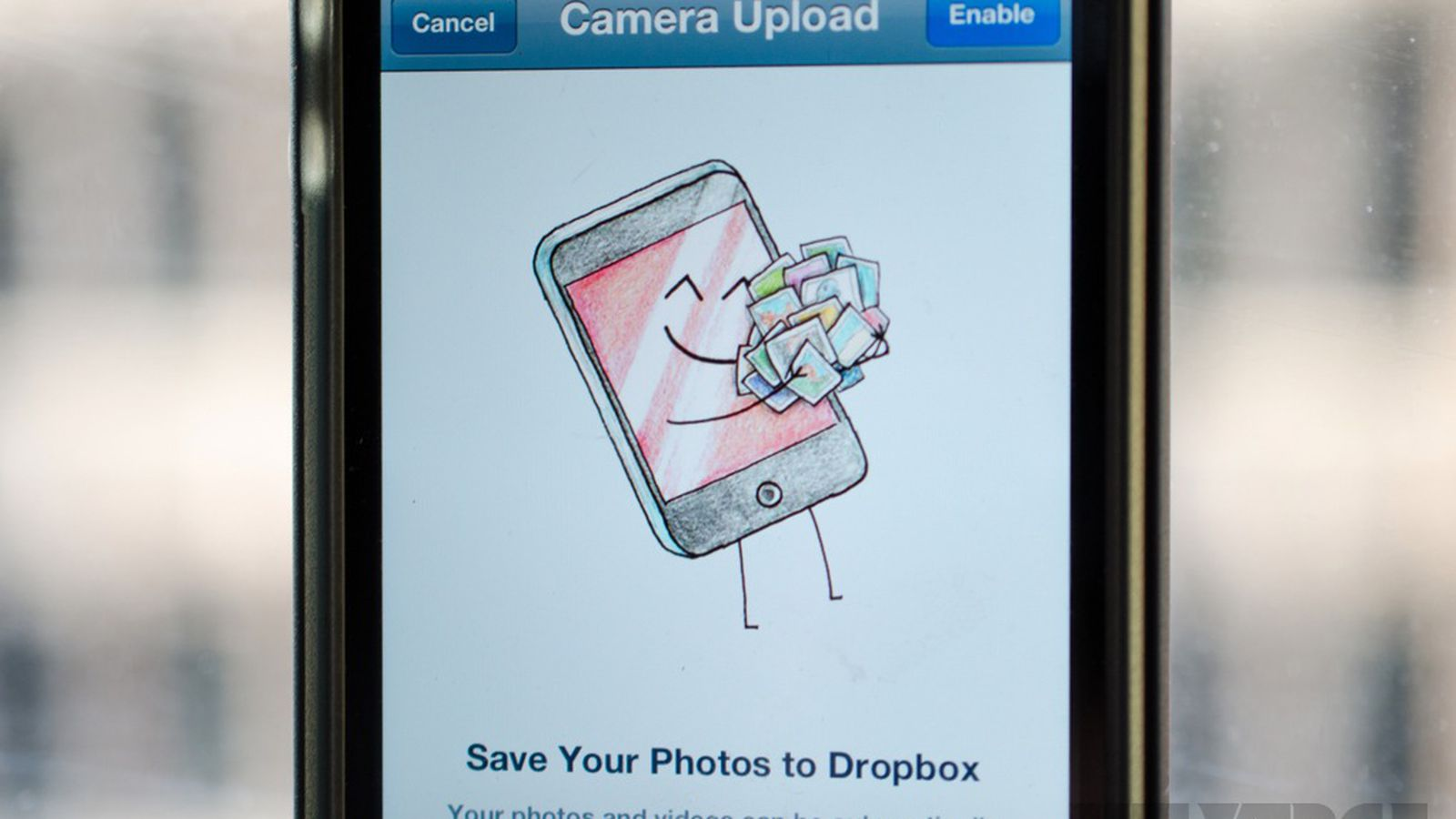 how to delete dropbox photos from gallery