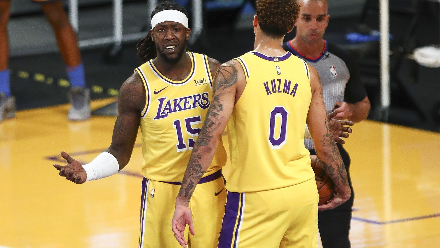 NBA Trade Rumors: Montrezl Harrell 50-50 on option, Lakers may deal him -  Silver Screen and Roll