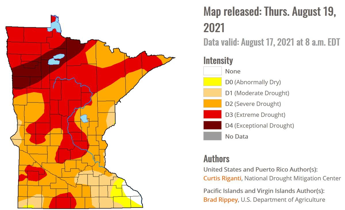 Drought Comparisons to 1988 as Strong/Severe T-storms Arrive Later Today