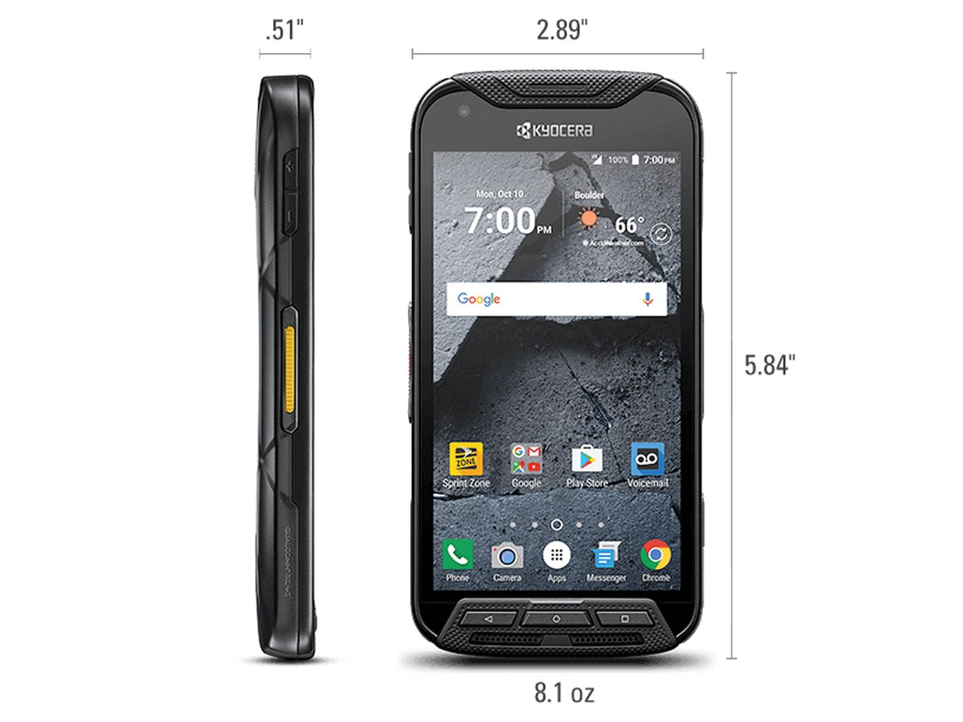T Mobile S Latest Rugged Phone Can Record Action Videos With A Hud The Verge
