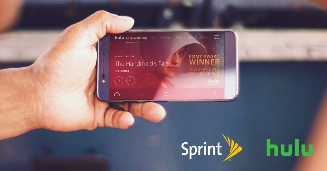 Sprint Is Including Free Hulu With Its Unlimited Plan Starting