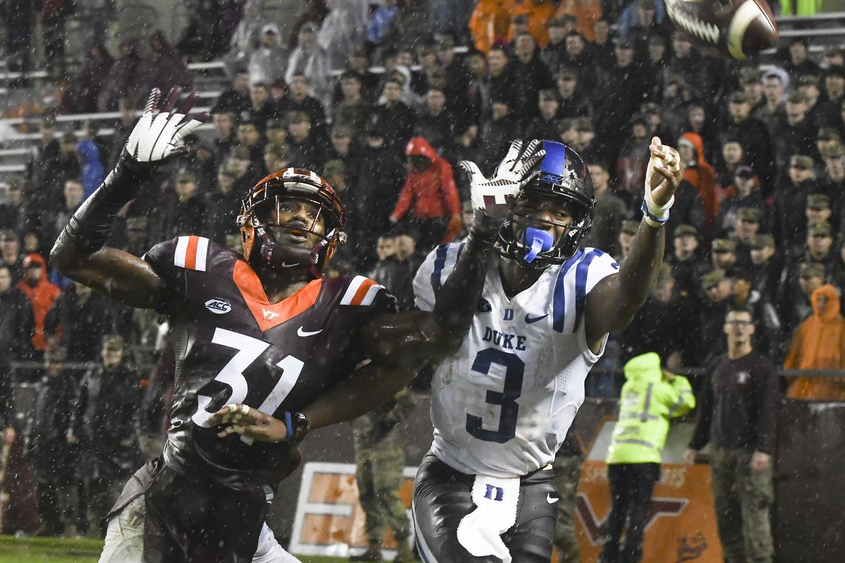 Virginia Tech Football A Look At The Duke Blue Devils Gobbler Country