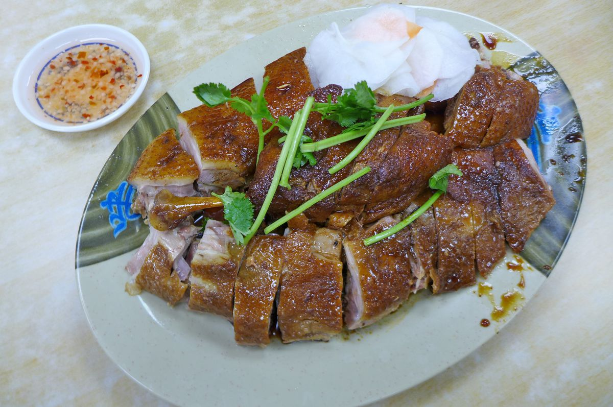 Country style duck at Bo Ky