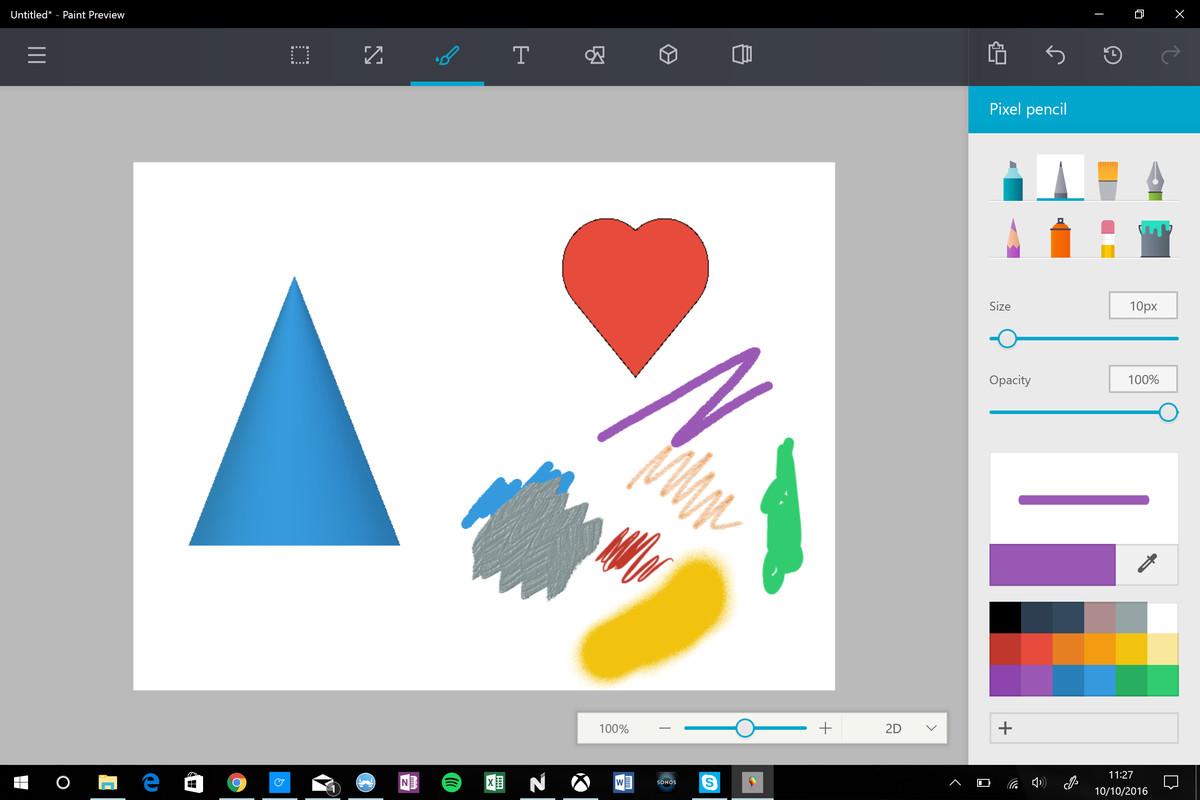 Microsoft Paint for Windows 10