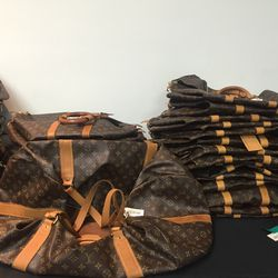 Louis Vuitton Keepall, $1,150