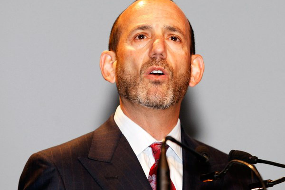 MLS Commissioner Don Garber has some new ideas for officials that could favor a more attacking game of soccer in the league in 2011.