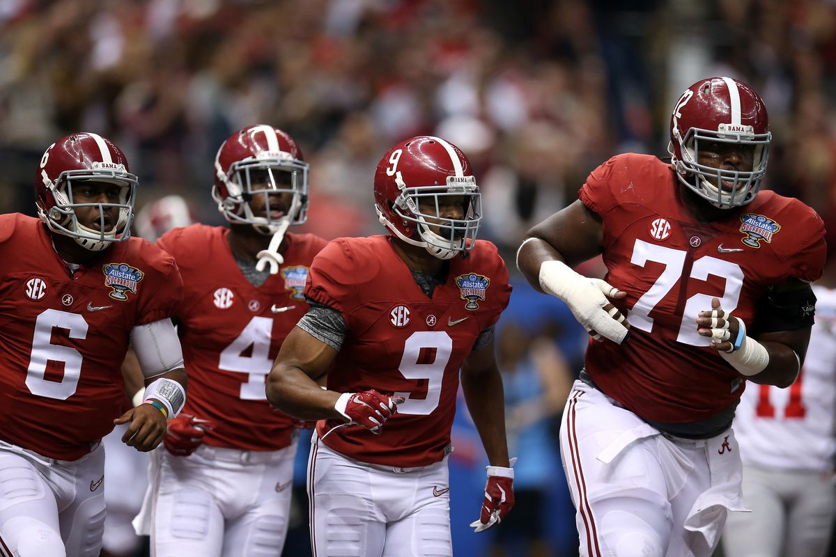T.J. Yeldon (4) and Amari Cooper (9) will be heading to the pros this summer.