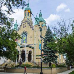 St. Nicholas Ukrainian Catholic Cathedral in Ukrainian Village. | Tyler LaRiviere/Sun-Times
