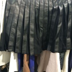 Joie leather skirt, $100