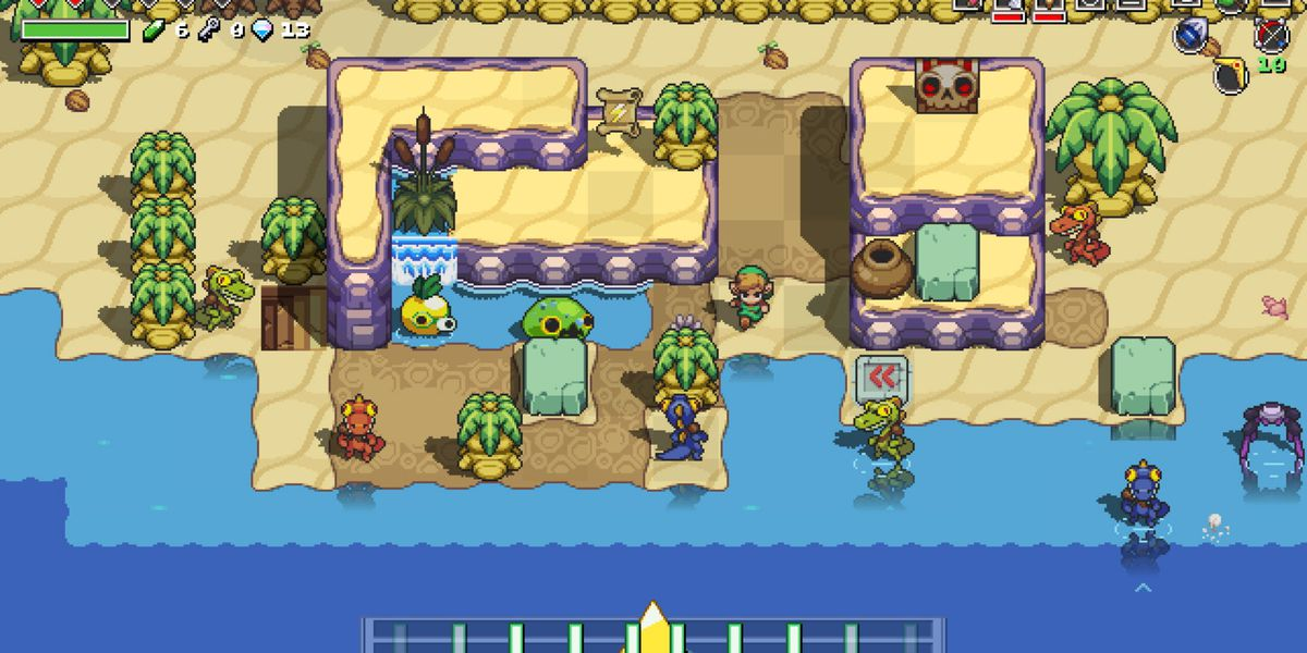 Cadence of Hyrule is a Zelda rhythm game that demands you