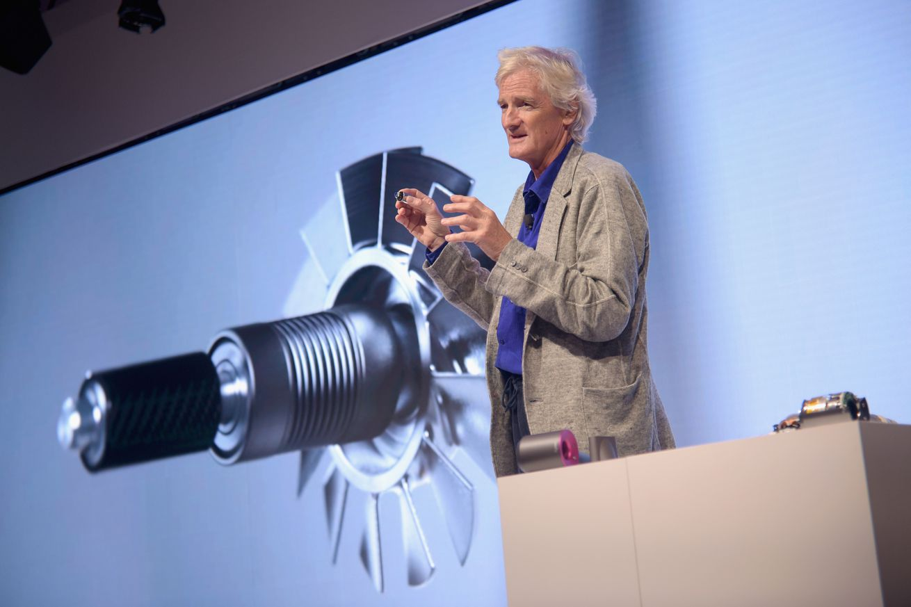 there could be an entire line of dyson electric cars