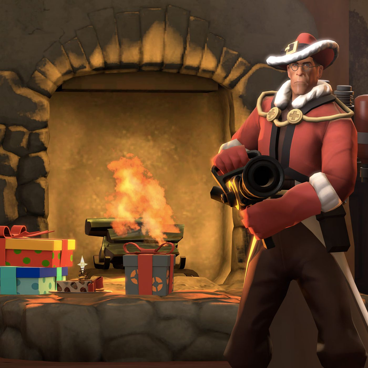 Team Fortress 2 now has grappling hooks, power-ups and a new