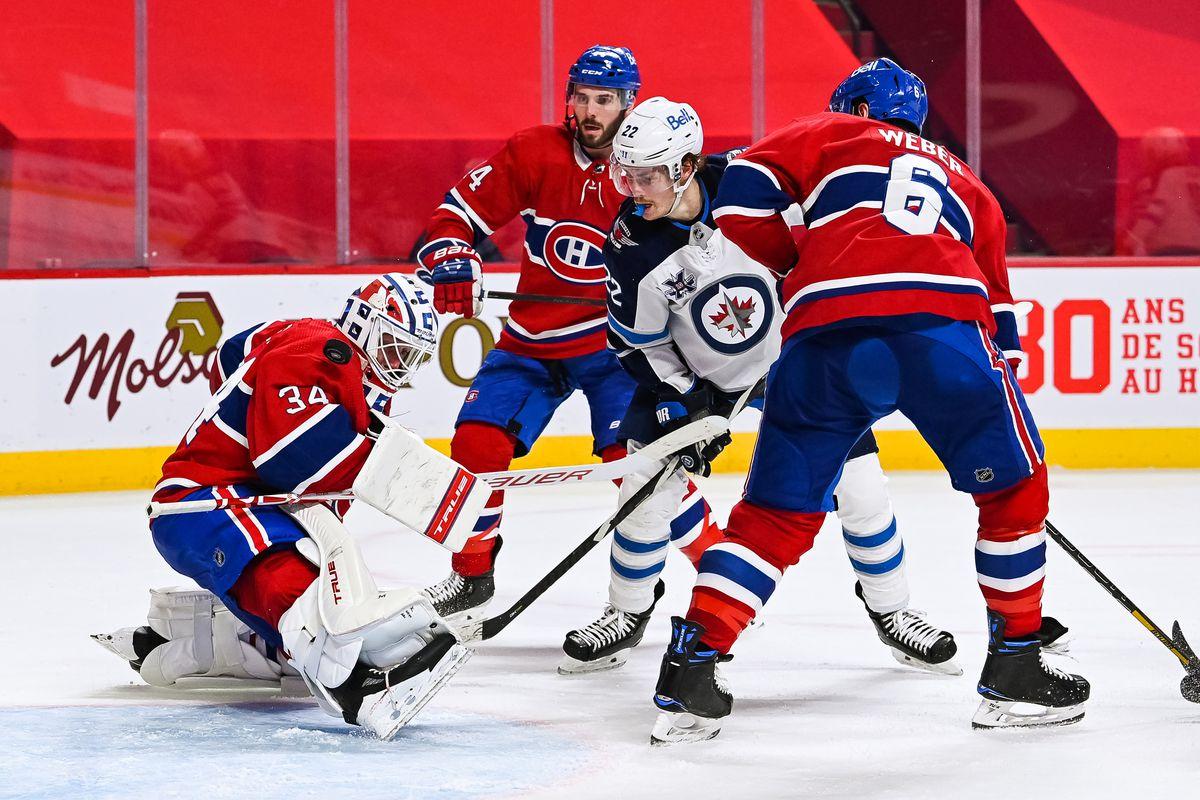 NHL: APR 08 Jets at Canadiens
