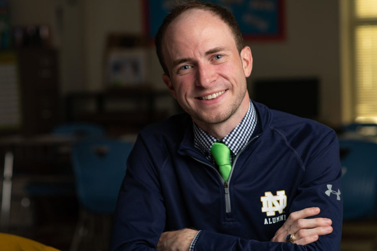 Kevin Kimberly was one of five Memphis educators selected by nonprofit New Memphis for its first class of the Educators of Excellence Awards.