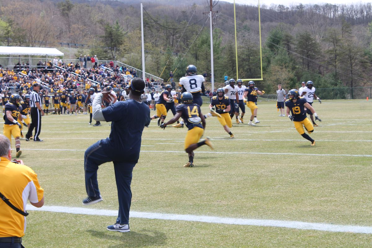 Marcus Simms TD Spring Game