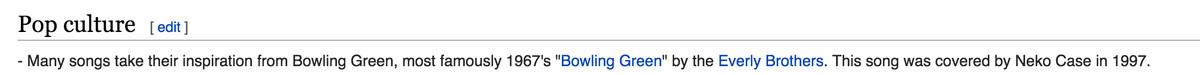 bowlinggreensongs