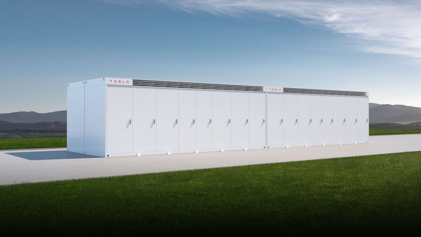 Tesla's Megapack battery is big enough to help grids handle