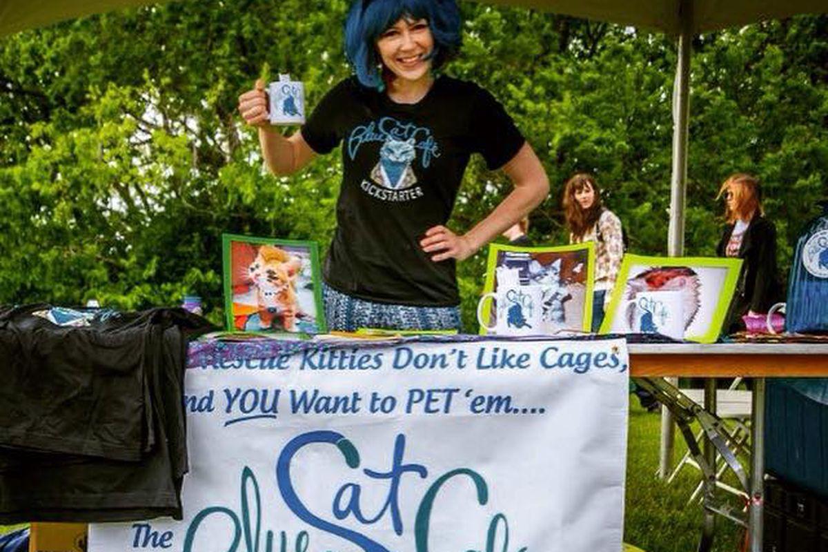 Blue Cat Cafe's Rebecca Gray