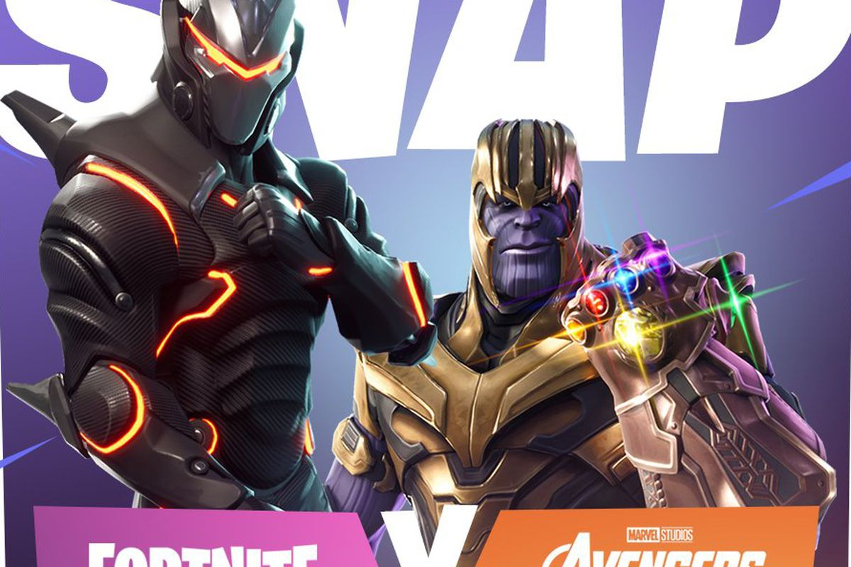 Fortnite Battle Royale and Avengers: Infinity War event starts May 8