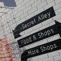 We can't wait to know more about this secret alley.